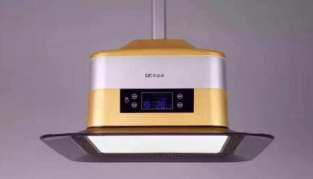 QYGD -QYK-118(大液晶屏)智能灯式净化器